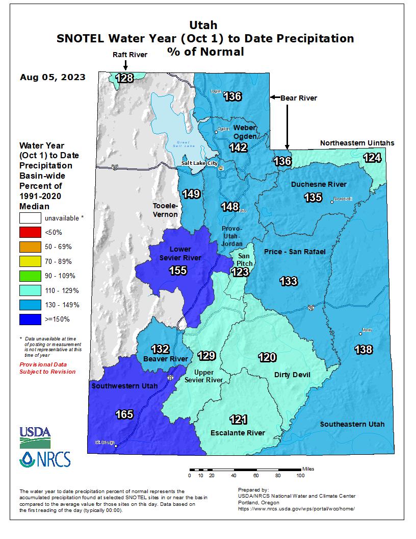 Utah's Water Year