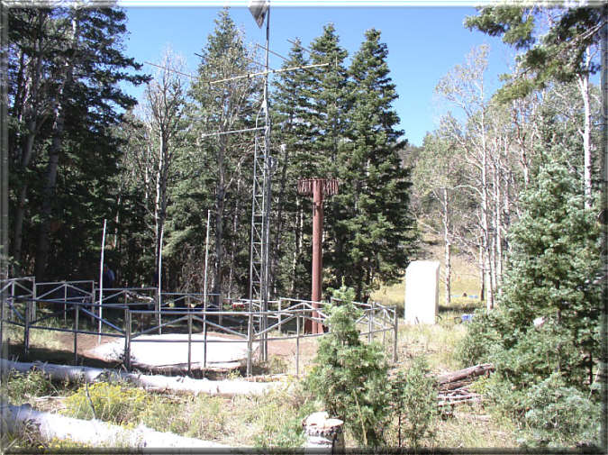 Photograph is of the Gardner Peak  SNOTEL site.