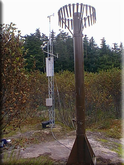 Photograph is of the Esther Island  SNOTEL site.