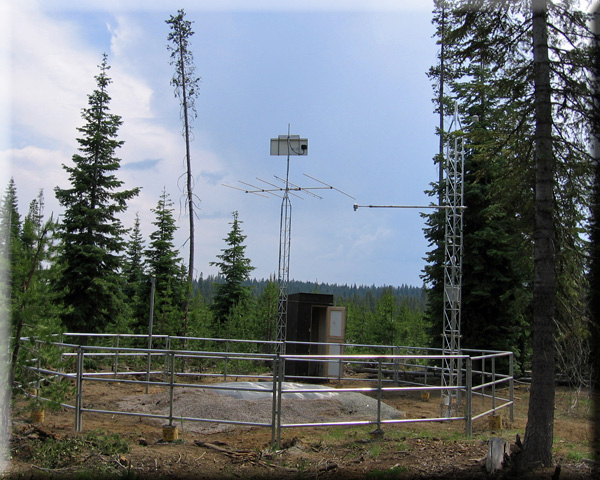 Photograph is of the Sun Pass  SNOTEL site.