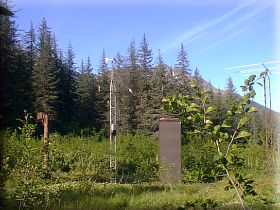 Photograph is of the Sugarloaf Mtn  SNOTEL site.