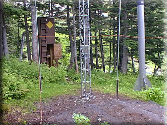Photograph is of the Mt. Alyeska  SNOTEL site.