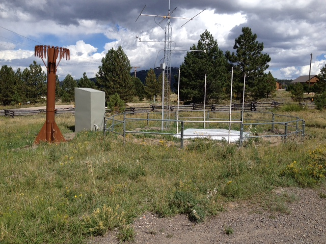 Photograph is of the Panguitch Lake RS  SNOTEL site.