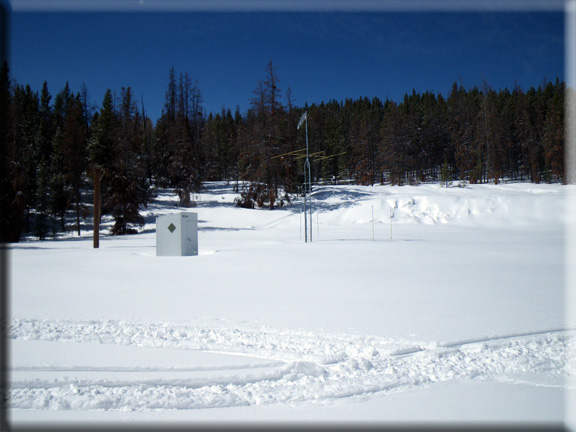 Photograph is of the Blacks Fork Jct  SNOTEL site.