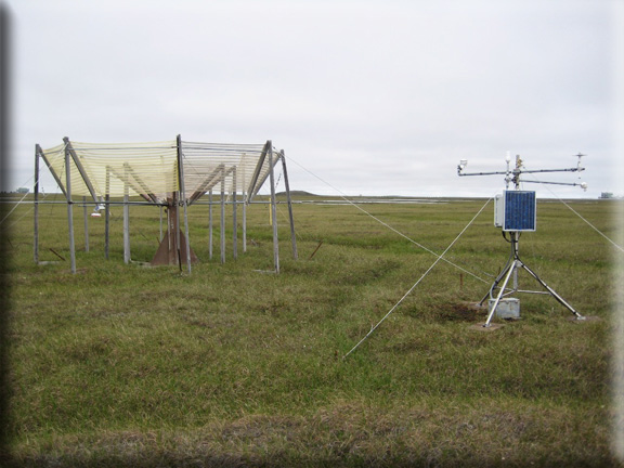 Photograph is of the Prudhoe Bay  SNOTEL site.