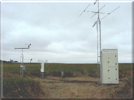 Photograph is of the Ames                  SCAN site.