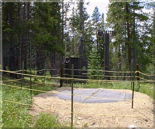 Photograph is of the Arrow                 SNOTEL site.