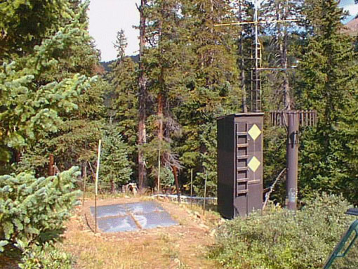 Photograph is of the Beartown              SNOTEL site.