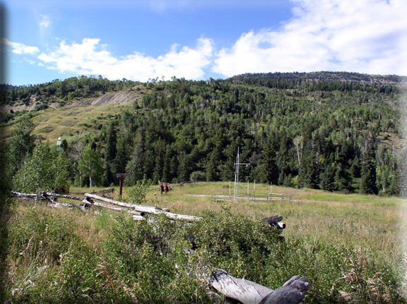Photograph is of the Beaver Dams           SNOTEL site.