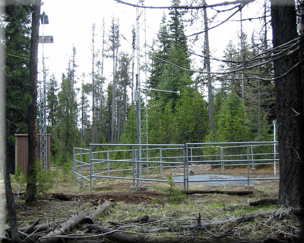 Photograph is of the Blue Mountain Spring  SNOTEL site.
