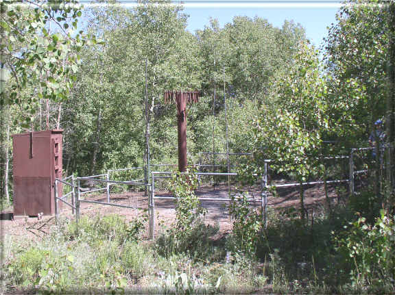 Photograph is of the Buckskin Lower  SNOTEL site.
