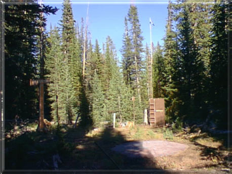 Photograph is of the Burroughs Creek  SNOTEL site.