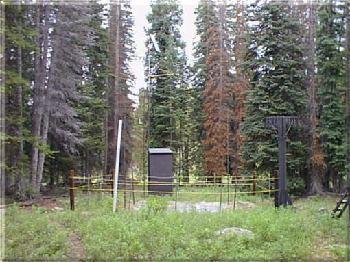 Photograph is of the Butte  SNOTEL site.