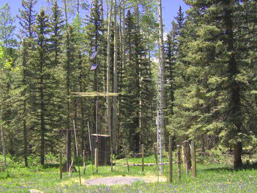Photograph is of the Cascade #2  SNOTEL site.