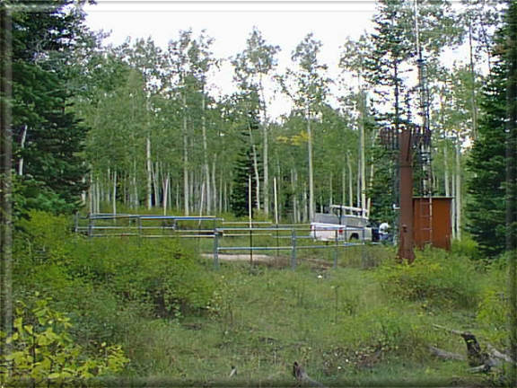Photograph is of the Dills Camp  SNOTEL site.