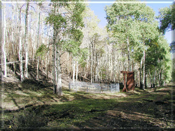 Photograph is of the East Willow Creek  SNOTEL site.