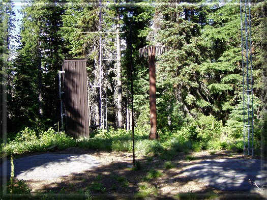 Photograph is of the Elk Butte             SNOTEL site.