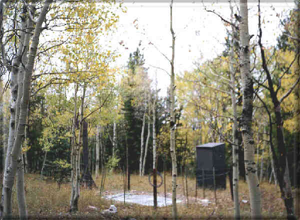Photograph is of the Elk River             SNOTEL site.