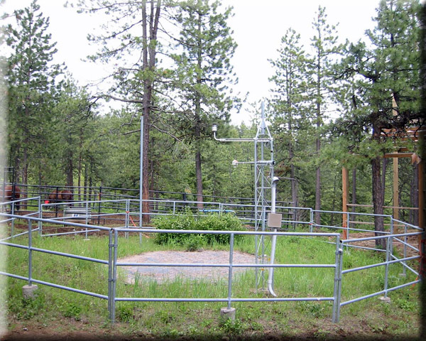 Photograph is of the Emigrant Springs  SNOTEL site.