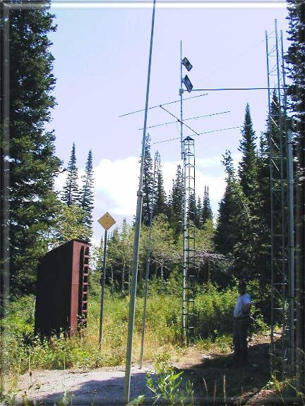 Photograph is of the Farmington  SNOTEL site.