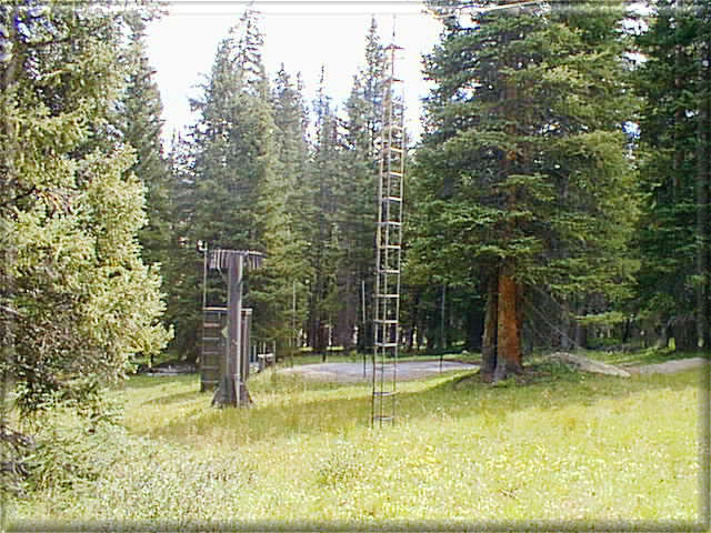 Photograph is of the Fremont Pass  SNOTEL site.