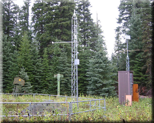Photograph is of the High Ridge  SNOTEL site.