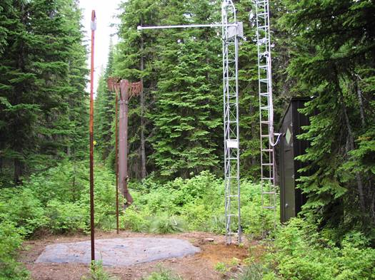 Photograph is of the Lookout  SNOTEL site.