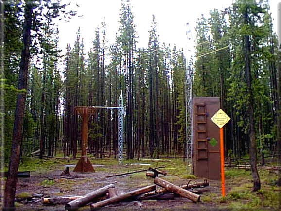 Photograph is of the Madison Plateau       SNOTEL site.