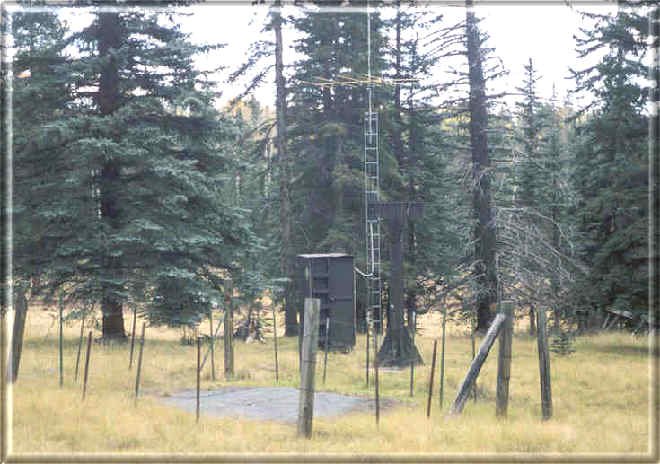 Photograph is of the Maverick Fork         SNOTEL site.