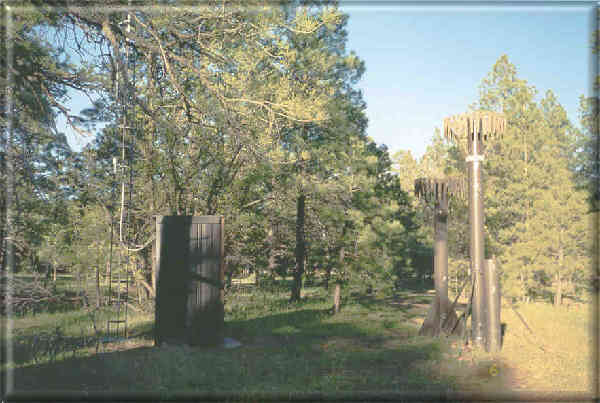 Photograph is of the Mormon Mountain  SNOTEL site.