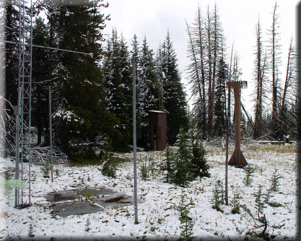 Photograph is of the Mt. Howard            SNOTEL site.