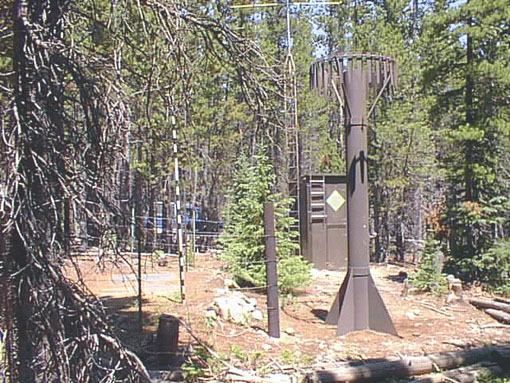 Photograph is of the Niwot  SNOTEL site.