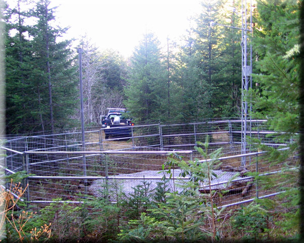 Photograph is of the North Fork            SNOTEL site.