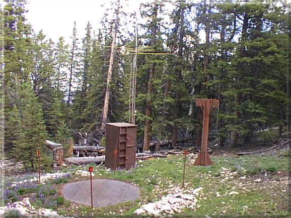 Photograph is of the Owl Creek  SNOTEL site.