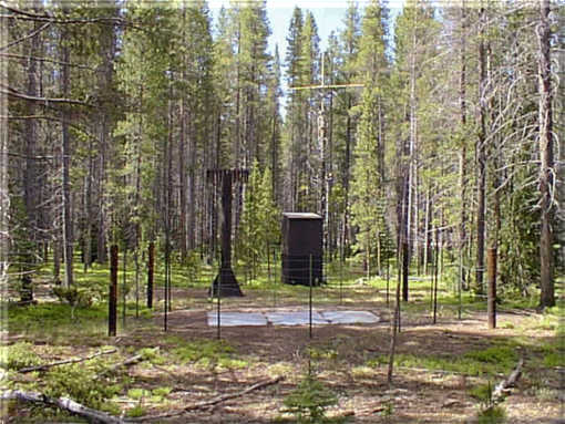 Photograph is of the Phantom Valley        SNOTEL site.