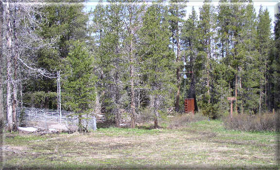 Photograph is of the Poison Flat  SNOTEL site.