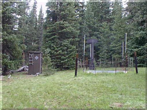 Photograph is of the Porphyry Creek        SNOTEL site.