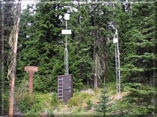 Photograph is of the Quartz Peak  SNOTEL site.