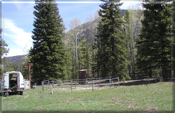 Photograph is of the Rock Creek            SNOTEL site.