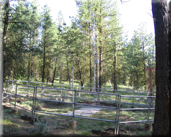 Photograph is of the Rock Springs  SNOTEL site.