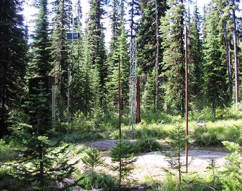 Photograph is of the Savage Pass  SNOTEL site.