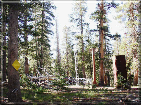 Photograph is of the Sonora Pass  SNOTEL site.