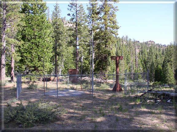 Photograph is of the Spratt Creek  SNOTEL site.