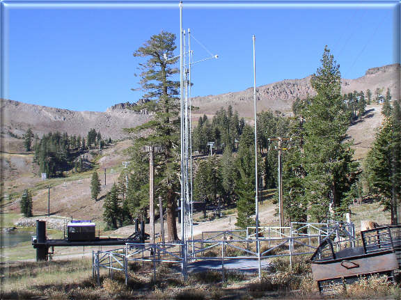 Photograph is of the Squaw Valley G.C.  SNOTEL site.