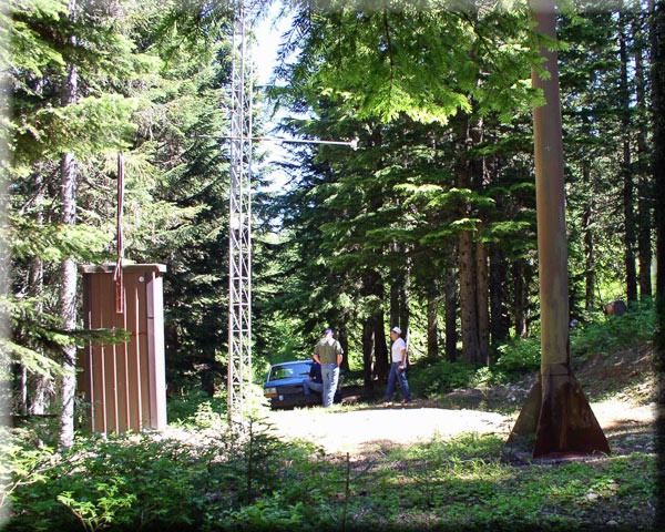 Photograph is of the Stampede Pass  SNOTEL site.