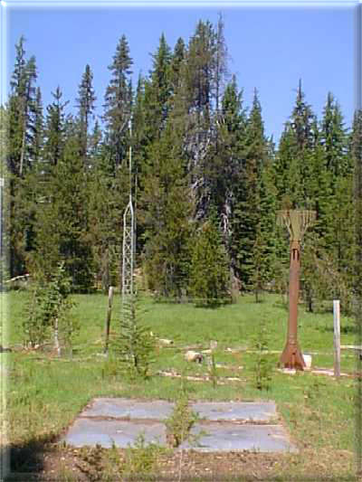 Photograph is of the Summit Lake  SNOTEL site.