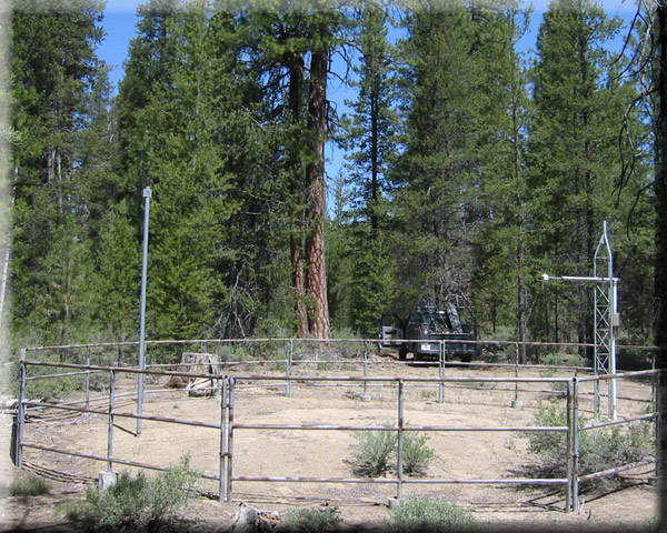 Photograph is of the Taylor Butte  SNOTEL site.
