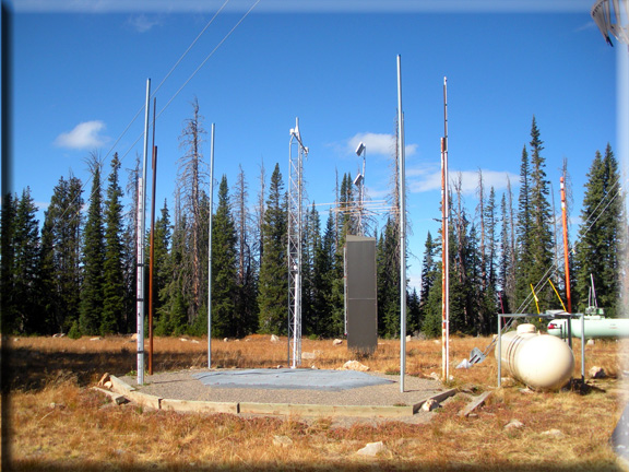 Photograph is of the Tower  SNOTEL site.