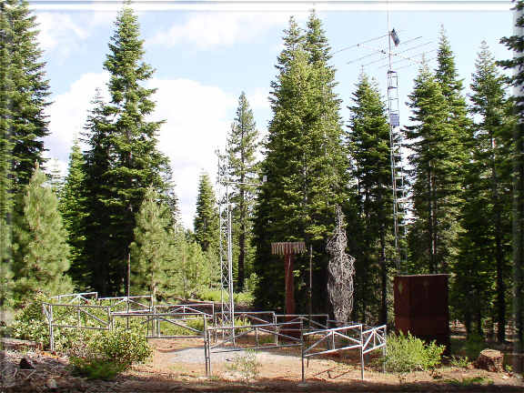 Photograph is of the Truckee #2  SNOTEL site.