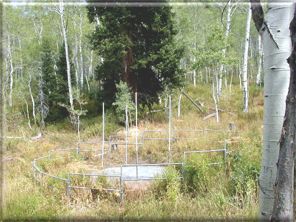 Photograph is of the Hardscrabble  SNOTEL site.